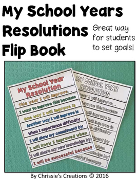 Flip Book: School Years Resolution
