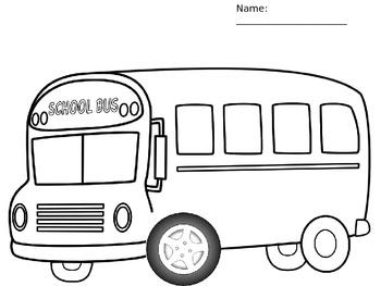 School bus activity