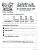 School is Back! Forms Pack- Teachers' Forms & Essentials f