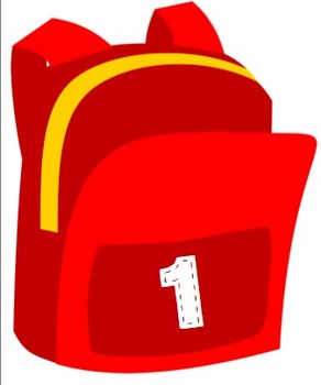 School supplies for Counting or Naming