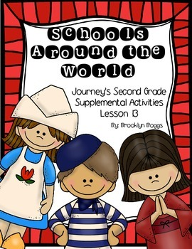 Schools Around the World Journey's Activities - Second Gra