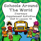 Schools Around the World Supplement Materials Journeys 2nd Grade