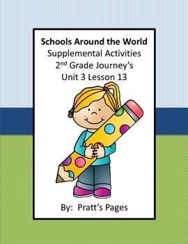 Schools Around the World Supplemental Activities for Journ