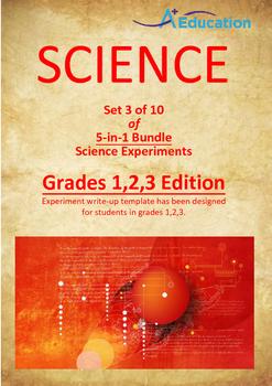 Science 5-IN-1 BUNDLE (Set 3 of 10) - Grades 1,2,3