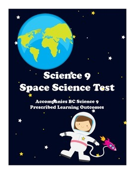 Science 9 Space Science Test