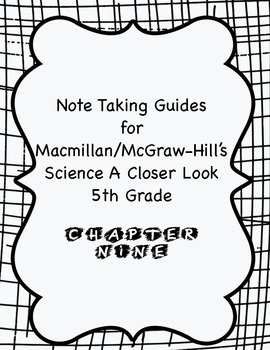 Science A Closer Look Note Taking Guide Ch. 9