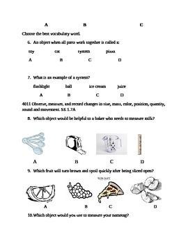Science Assessment Comprehensive