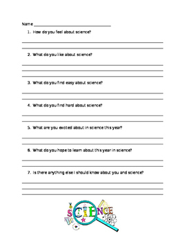 Science Attitude Survey