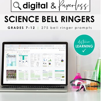 Science Bell Ringer Journal for the Entire School Year: DI
