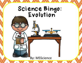 Science Bingo: Evolution