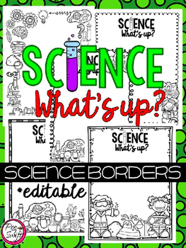 Science Borders - WHAT'S UP?