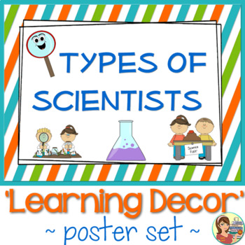 Types of Scientists Posters
