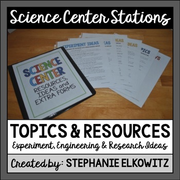 Science Center Topics, Ideas and Resources (A FREE Companion)