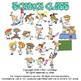 Science Class Cartoon Clipart Vol. 1