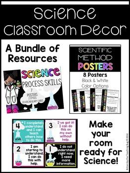 Science Class Decor Bundle
