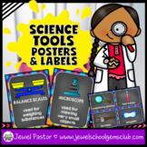 Science Classroom Decorations (Scientific Tools, Posters a