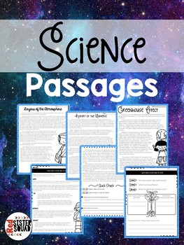 Science Close Reads
