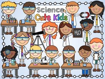 Science Cute Kids