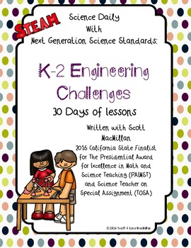 STEM - STEAM: K-2 NGSS Printables: Engineering Challenges