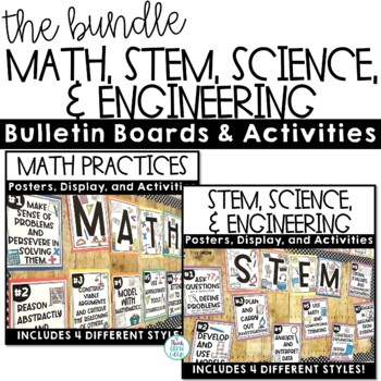 STEM, Science and Engineering and Math Practices