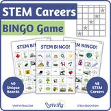 STEM Careers BINGO Game! (Science Technology Engineering Math)