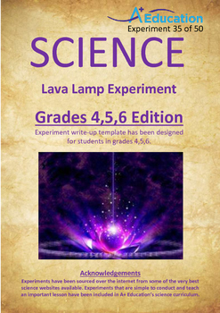 Science Experiment (35 of 50) - Lava Lamp - GRADES 4,5,6