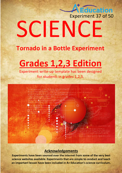 Science Experiment (37 of 50) - Tornado in a Bottle - Grad