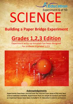 Science Experiment (6 of 50) - Building a Paper Bridge - G
