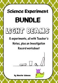 Science Experiment Bundle - Light Beams