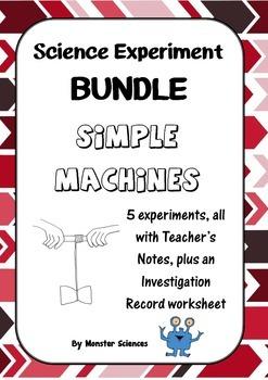 Science Experiment Bundle - Simple Machines 1