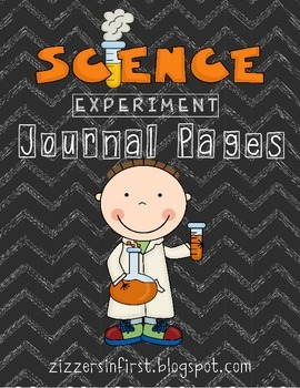 Science Experiment Journal Pages