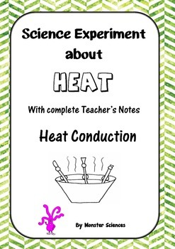 Science Experiment about Heat - Heat Conduction