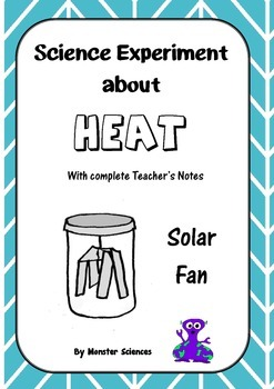 Science Experiment about Heat - Make a solar fan