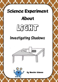 Science Experiment about Light - Investigating Shadows