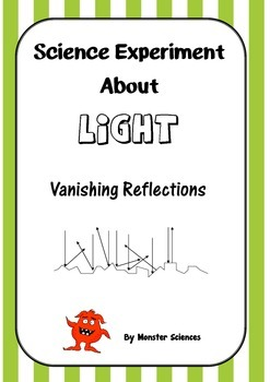 Science Experiment about Light - Vanishing Reflections