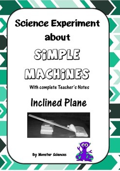Science Experiment about Simple Machines - Inclined Plane