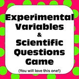Scientific Method: Experimental Variables and Scientific Q