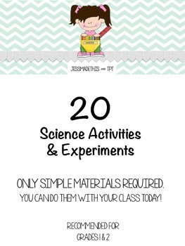 Science Experiments & Activities for Grade 1 & 2, Few Mate