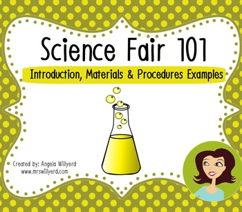 Science Fair 101: Introduction, Materials & Procedures {Ex