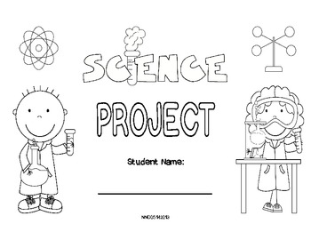 Science Fair Foldable (standard)
