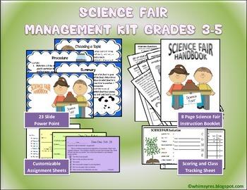 Science Fair Management Kit Gr 3-5