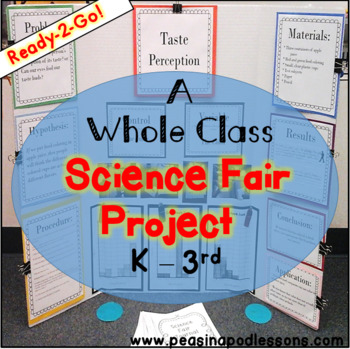 Science Fair Project & Experiment for kindergarten, first,