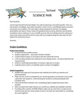 Science Fair Unit