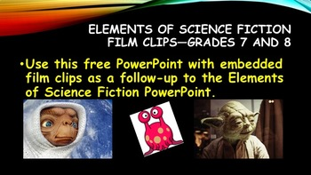 Science Fiction Film Clips—Grades 7 and 8