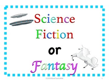 Science Fiction or Fantasy