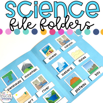 Science File Folder Activities for Special Education