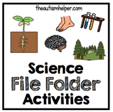 Science File Folder Activities {for special education}
