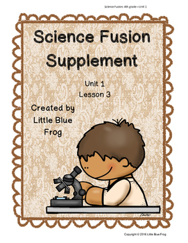 Science Fusion Supplement 4th grade Unit 1 Lesson 3