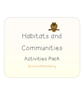 Science: Habitats and Communities - Activity Pack