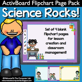 Science Rocks! ActivBoard Flipchart Page Pack
